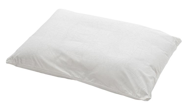 5分割枕をやわらかなロール状パットでくるんだ枕
