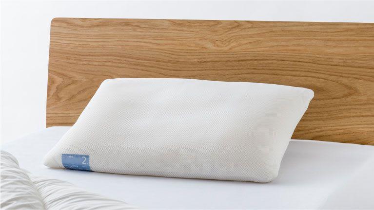 理想の寝姿勢を保つロフテー独自の分割構造の枕